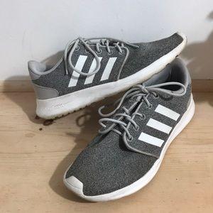 Adidas women Sneaker Shoes Size 8 Gray